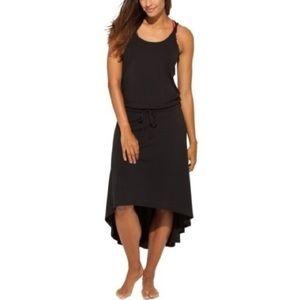 Calia by Carrie Underwood Strappy Black Midi Dress